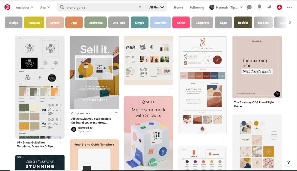 Pinterest Screenshot do this before launching your blog